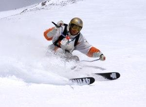 Big Sky Skifahrer