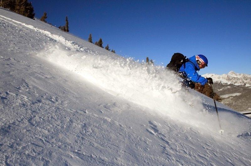 Skifahrer Big Sky