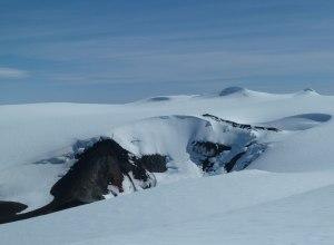 Krater des Eyjafjallajokull