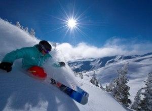 Skifahrer in Whistler