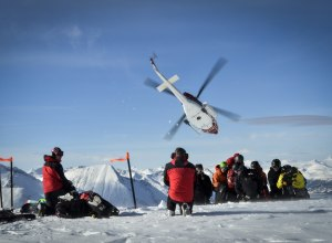 Heli-Skiing mit Tyax Heli-Skiing