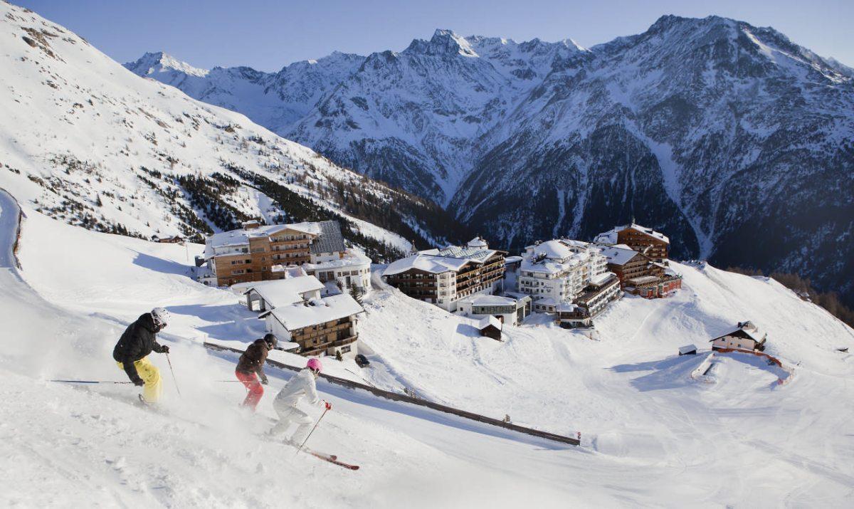 Skifahren Hochsölden