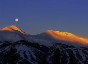Breckenridge Sonnenuntergang