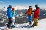 Skifahrer in Breckenridge