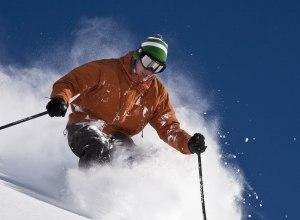 Skifahrer Fernie
