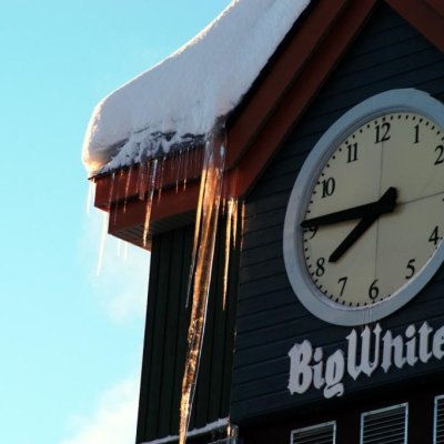 Clock in Big White
