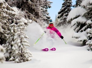 Skifahren in Big White