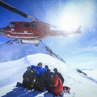 Heli-Skiing TLH