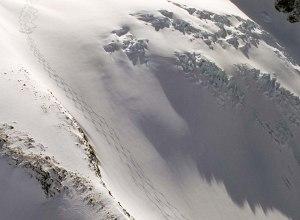 Skifahren auf dem Gletscher bei TLH