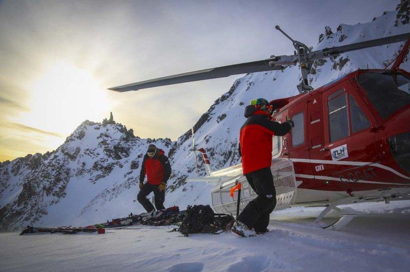 Heli-Skiing Tyax Heli-Skiing