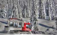 Big Red Snowcat