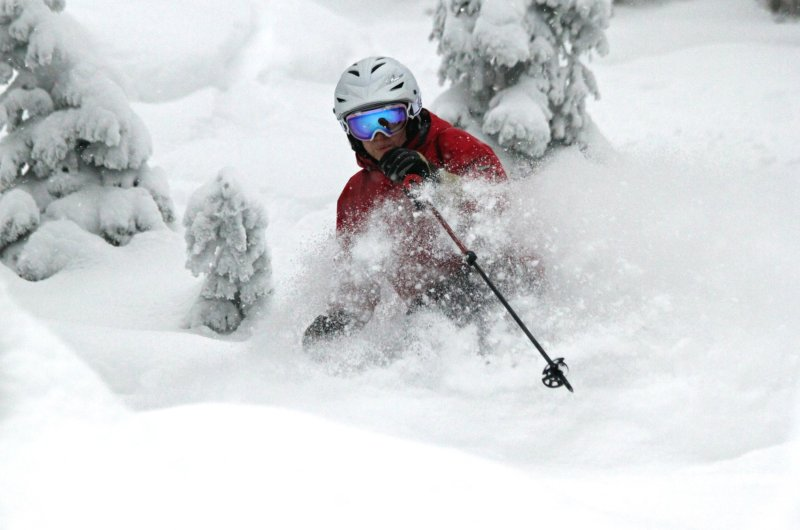 Whitefish Powder Skiing