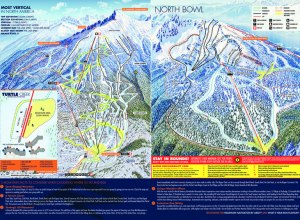 Trail Map Revelstoke