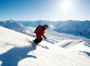 Skifahren in Alaska