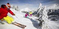 Skiing at Sunshine