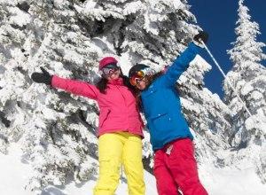 Skifahren in Silver Star