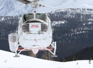 Gruppe bei Whistler Heli-Skiing