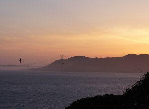 Golden Gate im Sonnenuntergang