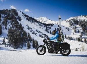 Alta Motorradfahrer