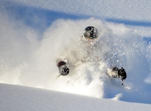 CMH, Single Skier, Close Up, Danny Stoffel