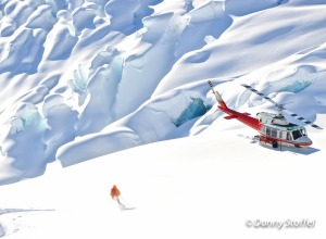 CMH, Single Skier with Helicopter, Danny Stoffel