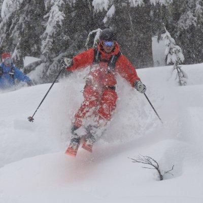 CMH,Tree Skiers, Craig McGee