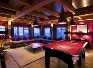 Bighorn Lodge Games Room
