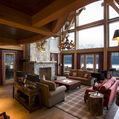 Bighorn Lodge Living Room