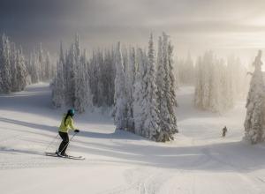 Skifahren Silver Star