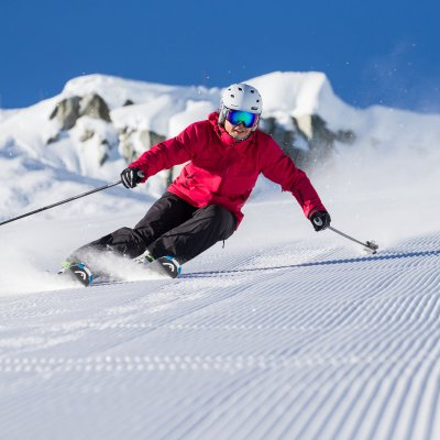 Carving in Whistler