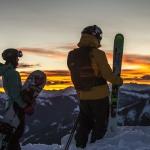 Sonnenuntergang Aspen