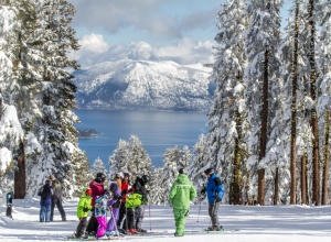 Lake Tahoe Skivergnügen