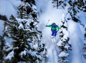 Jumps in Whistler