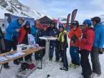 Das Team am Hagen Alpin Tours Stand