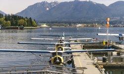 Wasserflugzeug in Vancouver