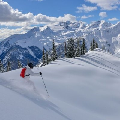 Male Skier, Scenic, Craig McGee
