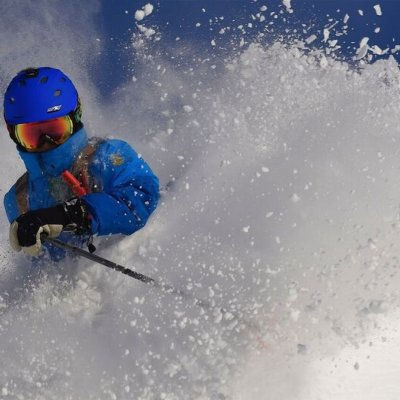 Skier, Close Up, Great Snow, Danny Stoffel