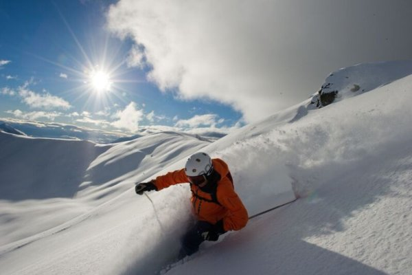 Skier, Scenic, Mike Welch