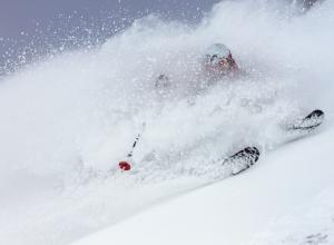 Skifahrer Jackson