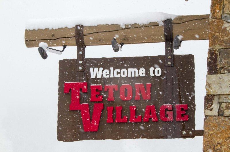 Willkommen im Teton Village