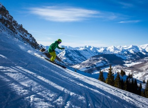 Carving Crested Butte