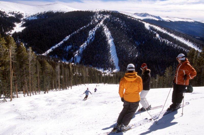Keystone Skifahrer
