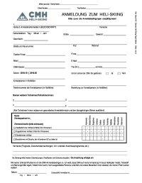 Haftungsausschlusserklärung CMH