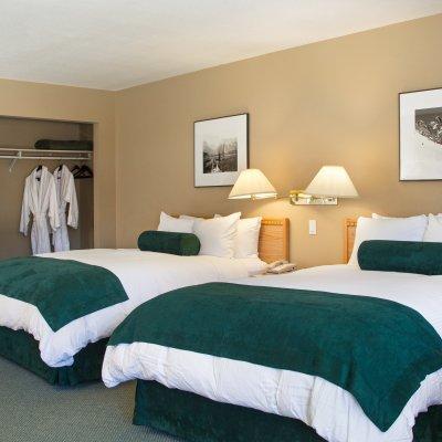 Zimmer auf der Kootenay Lodge
