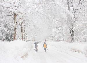In Japan fällt nahezu täglich Schnee