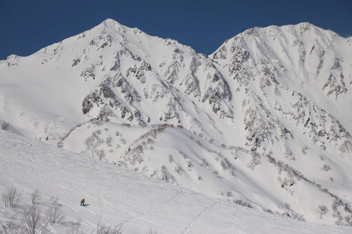 Berge in Hakuba