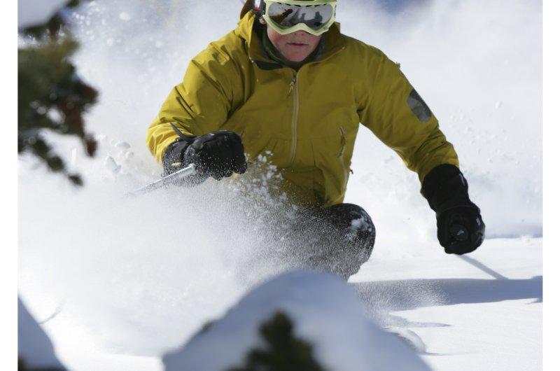 Deer Valley Skifahrer
