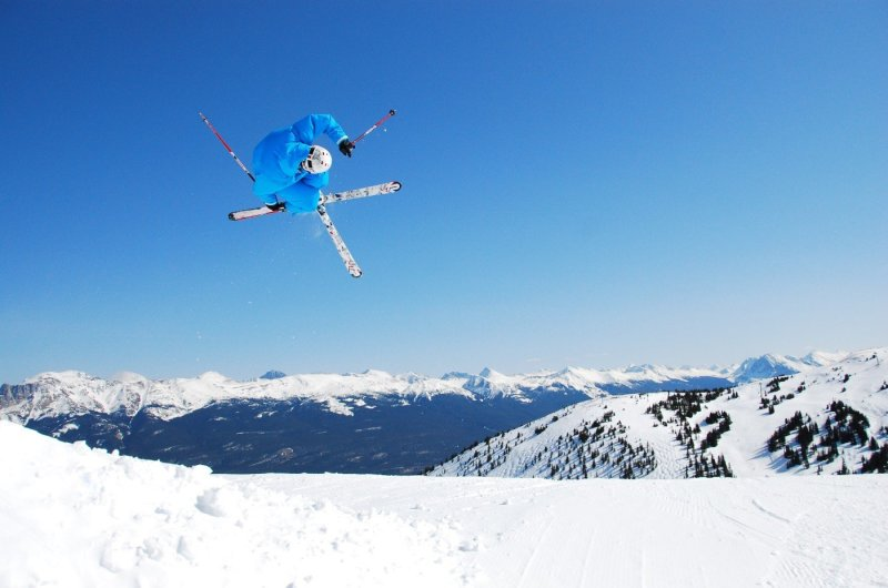 Marmot Basin - Skifahrer