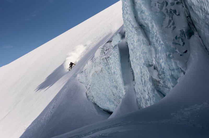 Traumabfahrt Tyax Heli-Skiing
