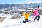 Snowboarder in Hakuba